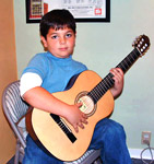 Acoustic guitar lessons for children