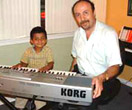 Keyboard children 4 to 6 years old