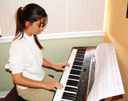 Piano children 7 to 12 years old