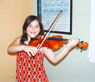 Violin lessons for children and teenagers